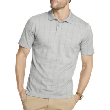 jcpenney.com | Van Heusen® Short-Sleeve Windowpane Polo Shirt