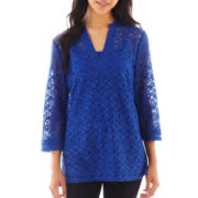 nicole by Nicole Miller® Lace Tunic Top