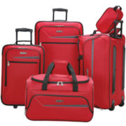 CLOSEOUT! IZOD® Metro 2.0 5-pc. Luggage Set