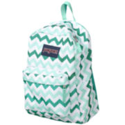 Jansport® Superbreak Aqua Dash Chevron Backpack