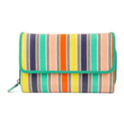 Mundi® Big Fat Aqua Stripe Wallet