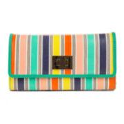 Mundi® File Master Aqua Stripe Wallet