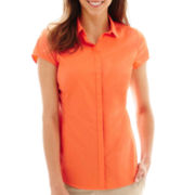 Worthington® Essential Short-Sleeve Shirt