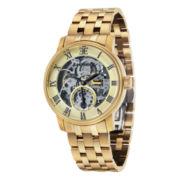 Thomas Earnshaw Men's Gold Tone Westminster Bracelet Watch