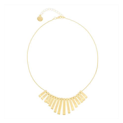 Liz Claiborne® Gold-Tone Mini Stick Necklace