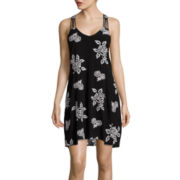 My Michelle® Sleeveless Floral A-Line Dress