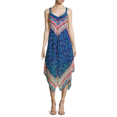 jcpenney.com | My Michelle® Sleeveless Double-Print Dress