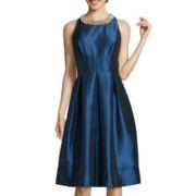 Melrose Sleeveless Beaded Dress