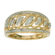 1/5 CT. T.W. Diamond 10K Yellow Gold Ring