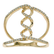 Diamond 10K Yellow Gold Ring