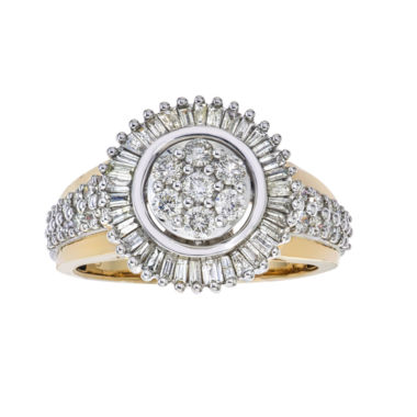 jcpenney.com | diamond blossom Diamond 1 CT. T.W. 10K Two-Tone Gold Ring