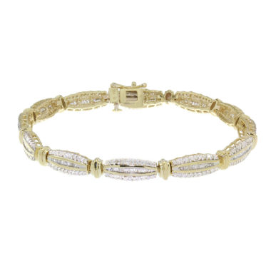 jcpenney.com | 2 CT. T.W. Diamond 10K Yellow Gold Bracelet