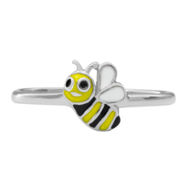 jcpenney.com | Hallmark Kids Sterling Silver Enamel Bee Ring
