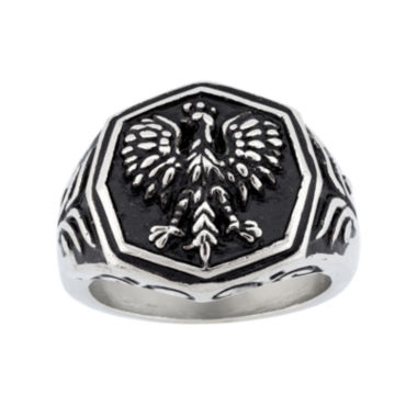 jcpenney.com | Mens Stainless Steel Eagle Ring