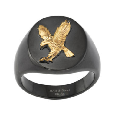 jcpenney.com | Mens Stainless Steel Eagle Signet Ring