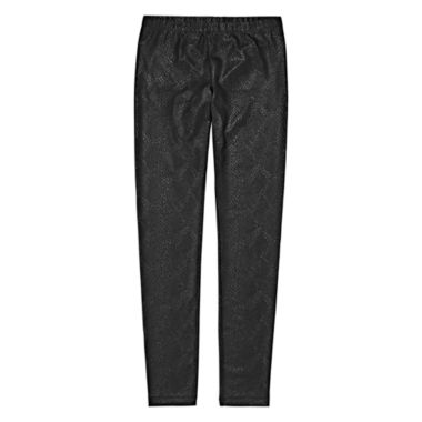 jcpenney.com | Total Girl® Pleather Leggings - Girls 7-16 and Plus