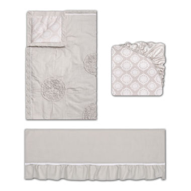 jcpenney.com | The Peanut Shell® Charlotte 3-pc. Crib Bedding Set