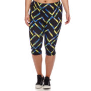 City Streets® Performance Capris - Juniors Plus