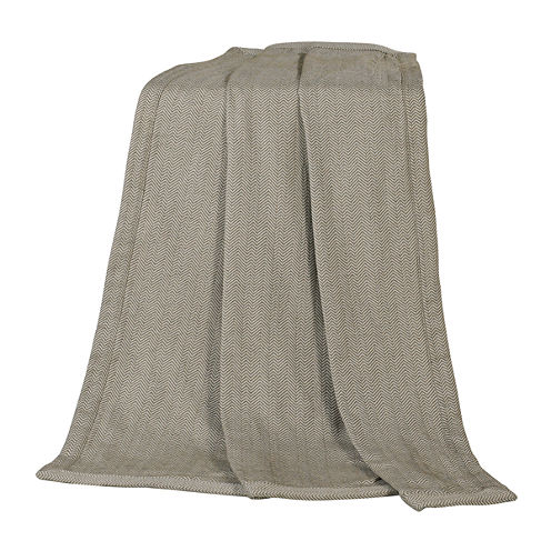 HiEnd Accent Fairfield Herringbone Throw
