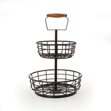 jcpenney.com | Gourmet Basics by Mikasa® Wire 2-Tier Basket