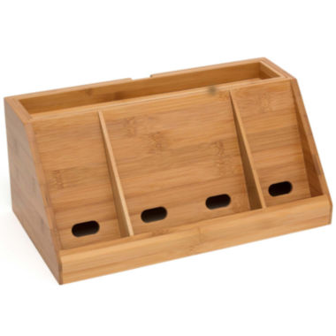 jcpenney.com | Lipper International Bamboo Deluxe Charging Station