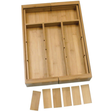 jcpenney.com | Lipper International Bamboo Expandable Organizer with Removable Dividers