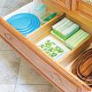 Lipper International Bamboo 2-pc. Deep Kitchen Drawer Divider Set