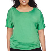 Alyx® Dolman Banded Top - Plus