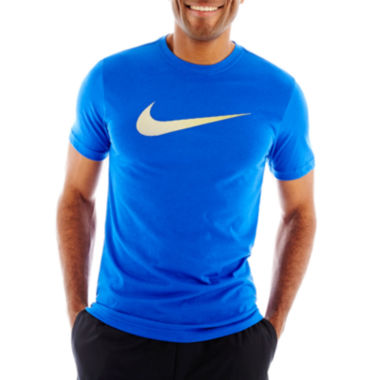 jcpenney.com | Nike® NA Swoosh Dri-FIT Cotton Tee