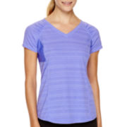 Xersion™ Short-Sleeve Mesh Inset T-Shirt