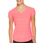 Xersion™ Short-Sleeve Mesh Inset T-Shirt