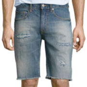 "Arizona 10"" Inseam Flex Cutoff Denim Shorts"
