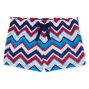 Okie Dokie® Americana Shorts - Toddler Girls 2t-5t