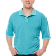 Lee® Short-Sleeve Vintage Cotton Polo - Big & Tall