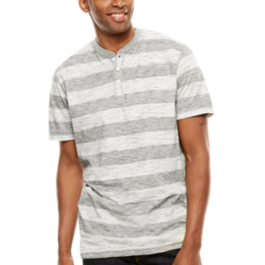 jcpenney.com | Lee® Striped Henley Tee - Big & Tall
