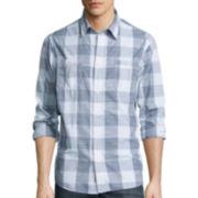 Lee® Long-Sleeve Textured Button-Front Shirt