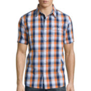 Lee® Short-Sleeve Weekend Button-Front Shirt