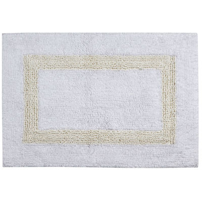 Jcpenney Better Trends Hotel Collection Cotton Reversible Bath Rug