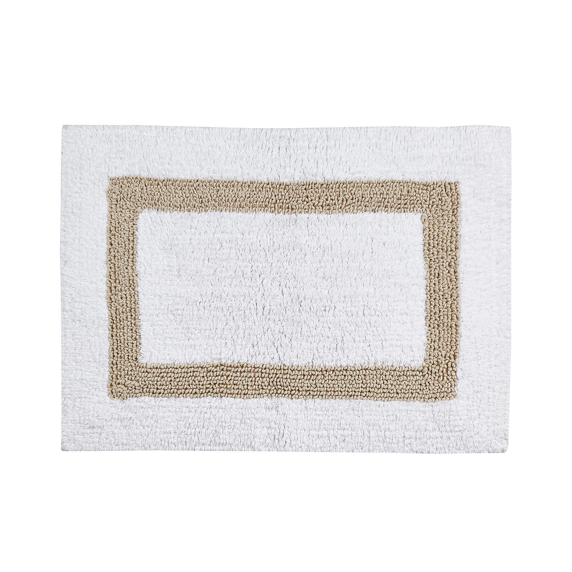 Hotel Collection Bath Mats: Better Trends Hotel Collection Cotton Reversible Bath Rug