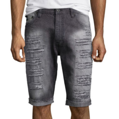 jcpenney.com | Southpole® Ripped Slim-Fit Denim Shorts