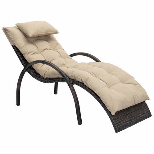 Zuo Modern Eggertz Beach Patio Lounge Chair