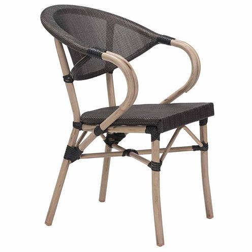 Zuo Modern Marseilles 2-pc. Patio Dining Chair