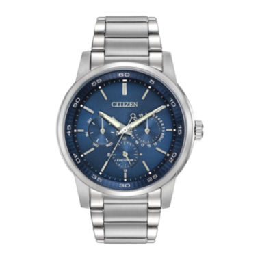 jcpenney.com | Citizen® Eco-Drive® Mens Blue Dial Stainless Steel Watch BU2010-57L