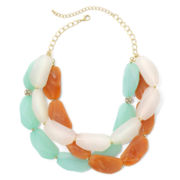 Mixit™ Tri-Color, Layered Necklace
