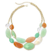 Mixit™ Mint For You Layered Necklace