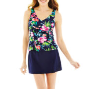 Jamaica Bay® Shirred-Side Tankini Swim Top or Skirted Bottoms