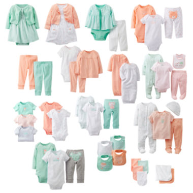 jcpenney.com | Carter's® Sherbet Sky Layette Collection - Girls