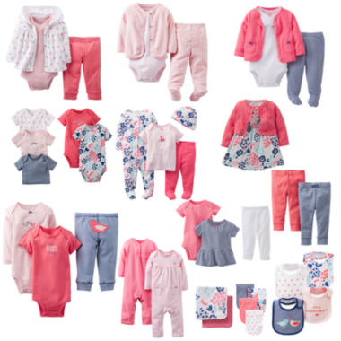 jcpenney.com | Carter's® Precious Prints Layette Collection - Girls
