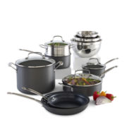 Cuisinart® Chefs Classic 11-pc. Hard-Anodized Cookware Set + BONUS