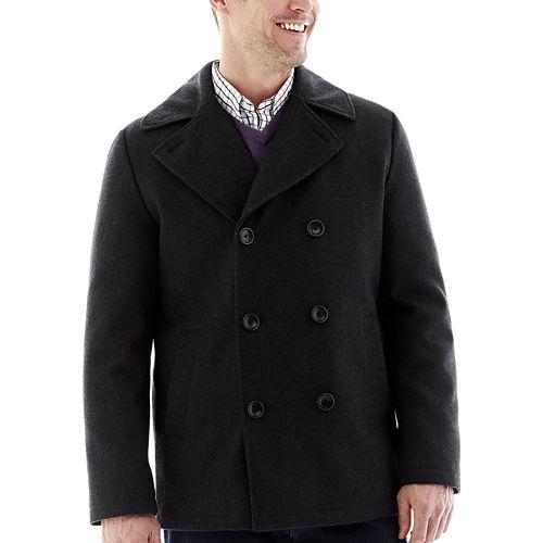 St. Johns Bay Mens Pea Coat